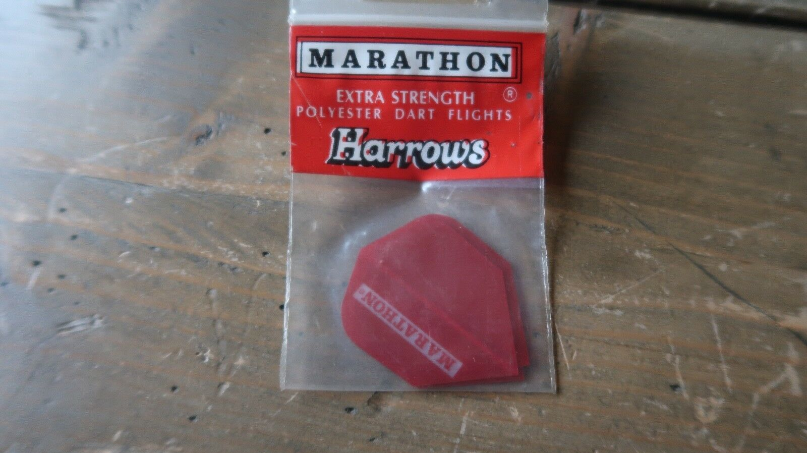 3 New Vintage Dart Flights Rot Marathon Harrows