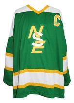 Wayne Gretzky #9 Brantford Nadrofsky Steelers Retro Hockey Jersey Green Any Size image 3