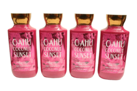 (Set of 4) Bath & Body Works Oahu Coconut Sunset Body Lotion - $35.89
