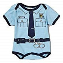 MON CHERI POLICE BABY ONE PIECE 6-9 MONTHS NEW WITH TAG - $9.72