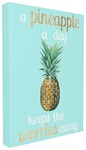 Stupell Home Décor A Pineapple A Day Keeps the Worries Away Oversized St... - $78.71