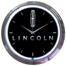 "Ford Lincoln American Neon Clock 15""x15"" - $69.00"