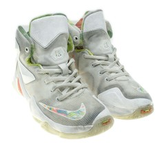 NIKE LeBron XIII Easter Kids White High Top Sneakers Toddler Size 13.5C - $24.74