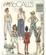 McCall's Sewing Pattern 5389 Girls Top Pants Shorts Size 10 Used - $9.99
