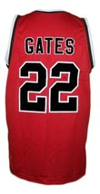 William Gates Hoop Dreams Movie Basketball Jersey New Sewn Red Any Size image 4