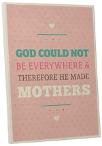 "Pingo World 0108QAP2NZM ""God Made Mothers"" Inspirational Motivational Ha... - $43.51"
