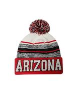 Arizona Blended Colors Men's Winter Knit Pom Beanie Hat (Red/White) - $12.95