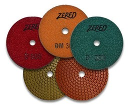 Zered PP4-D 4 in. D-Series Polishing Pad - $9.90 - $64.35