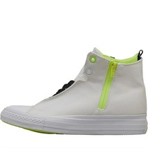 Converse Womens Chuck Taylor All Star Selene Shield Canvas Mid Trainers ... - $75.54