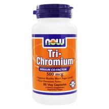 NOW Foods Tri-Chromium 500 mcg., 90 Vegetarian Capsules - $10.35