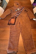 Chewbacca Star Wars Pajamas Costume One Piece Fleece Lucasfilm NWT - $23.38