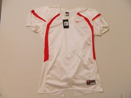 M30 New NWT NIKE Crack Back Blank White Game Jersey MEN'S 2XL - €20,98 EUR