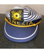 Venezia Womens Sailors Hat OSFA Venice Italy Vintage New Old Stock - $9.79