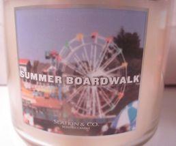 Bath & Body Works 3 wick 14.5 oz Candle Slatkin Summer Boardwalk image 3