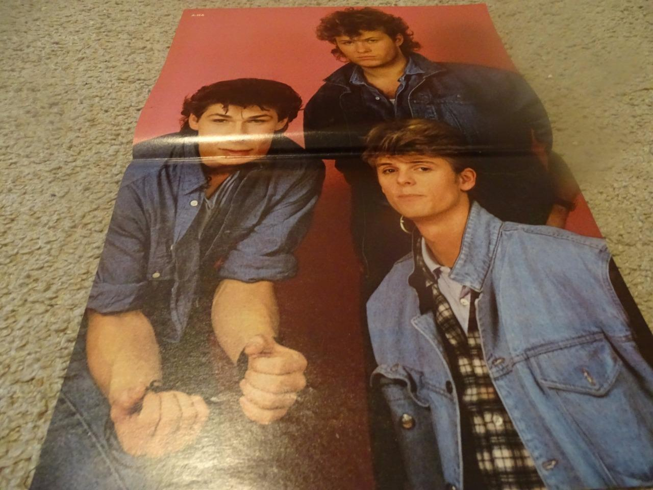A-Ha Heather Locklear teen magazine poster clipping Bop Tiger Beat Rockline