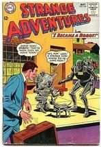 Strange Adventures #164 1964- Robot cover- DC Silver Age VG - $31.53