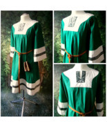 Medieval Tunic, Vikings, Renaissance Tunic, Cotton Tunic, Wedding - €86,09 EUR