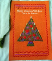 Hallmark Merry Christmas You're The Someone Greeting Card 1970s - $5.99