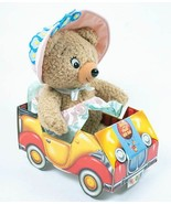 """NODDY IN TOYLAND TESSIE BEAR TEDDY ENID BLYTON PLUSH STUFFED ANIMAL TOY 16"""" - $24.74"""