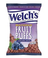 Welch's Concord Grape Multigrain Fruit Puffs 6 oz (Pack of 4) - $28.70