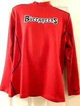 NIKE DRI-FIT TAMPA BAY BUCCANEERS MEN'S XL RED FITTED SWEATSHIRT NEW - $52.33