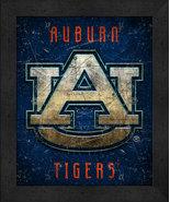 "Auburn Tigers ""Retro College Logo Map"" 13 x 16 Framed Print  - $39.95"