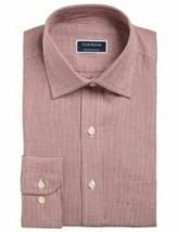Club Room Men's Dress Shirt Regular Fit Performance Size 18.5X34-35 image 1