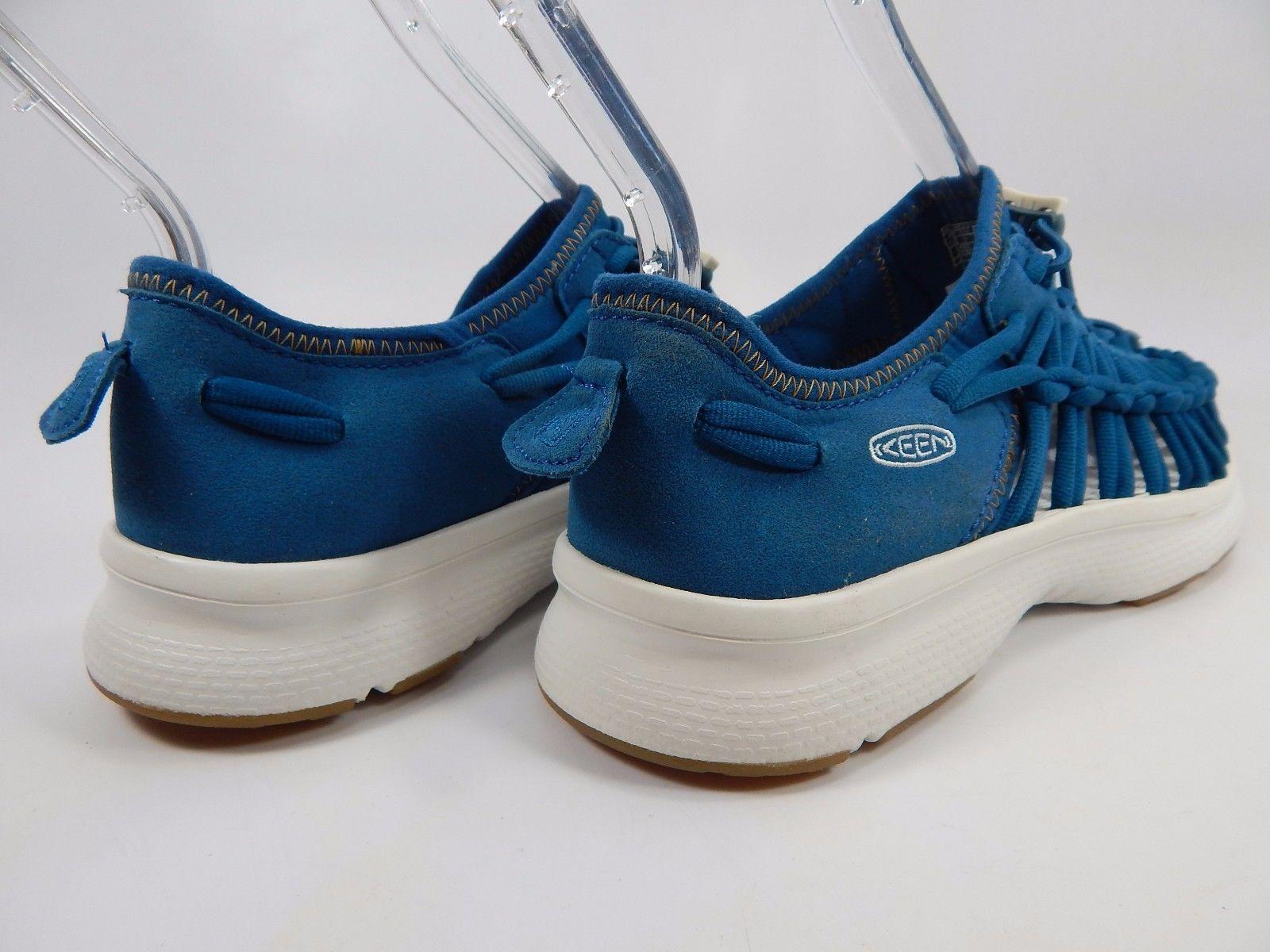 Keen Uneek o2 LTD Women's Sports Sandals Size US 7 M (B) EU 37.5 SEAPORT / WHITE