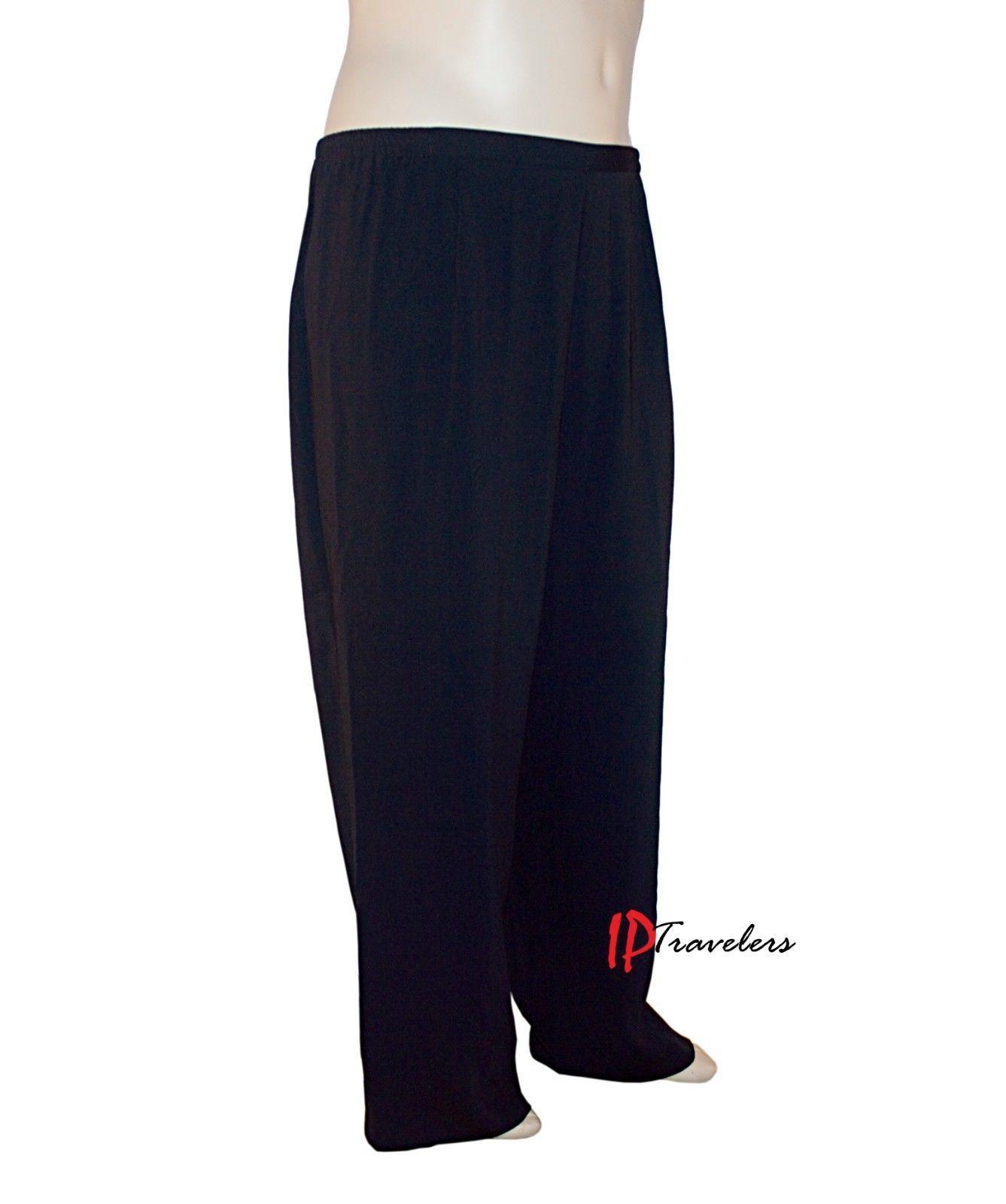 Charter Club Women's Pants Size 24W Stretch Black 100% Polyester $69 NWOT