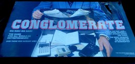 Conglomerate  Board Game 1986 Sealed - $15.00