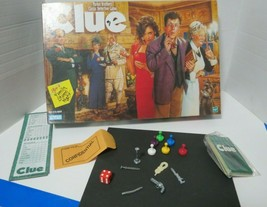 Vintage 1984 Clue Board Game Parker Brothers Hasbro Game Is Complete - $16.95