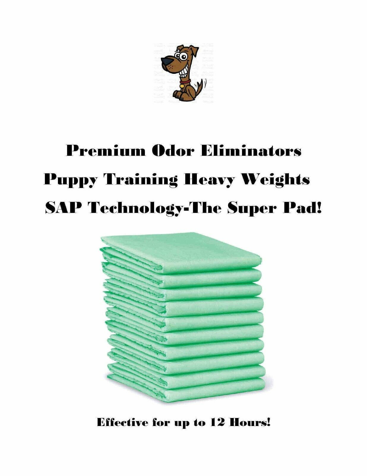 Primary image for 50ct 36x36 Maximum Absorbency Puppy Pads-up to 12hrs Protection-Multi Dog Use