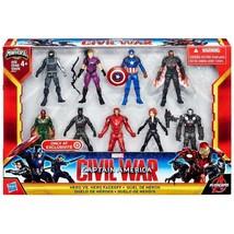 Captain America Civil War Hero vs Hero Faceoff Exclusive Set - $119.99
