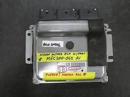 Nissan Altima Ecm W/PART #MEC300-062 A1 *See Item Description* - $272.25