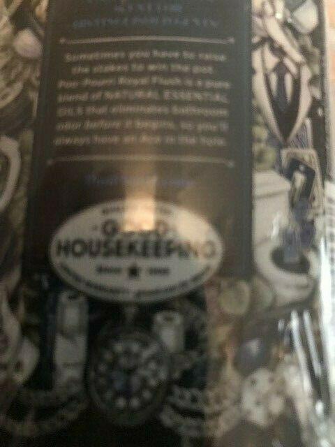 Poo-Pourri Before-You-Go Toilet Spray 4 oz Bottle, Royal Flush Scent-SEALED NEW