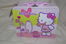 Sanrio HELLO Kitty Mini Lunch Box Metal NEW - $11.00
