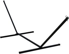 Vivere 15' Heavy Duty 3-Beam Hammock Stand, Black (Black) - $175.42