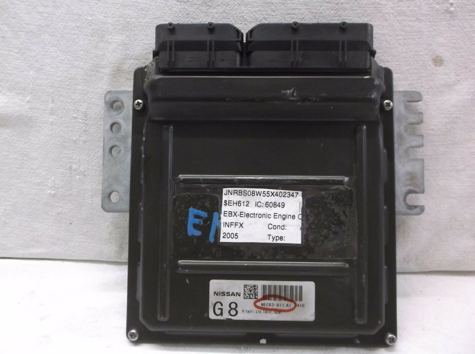 2005...05 INFINITI FX45  V8  4.5L  ENGINE CONTROL MODULE/COMPUTER..ECU..ECM..PCM - $336.60
