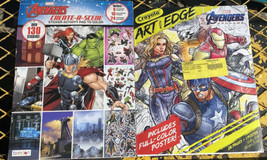Crayola Art with Edge and Marvel Avengers Infinity War Coloring Books 2 pack - $14.85