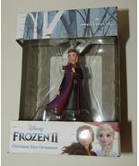 "Anna Frozen II Christmas Ornament Hallmark Disney New in Box 2.5"" High R... - $16.82"