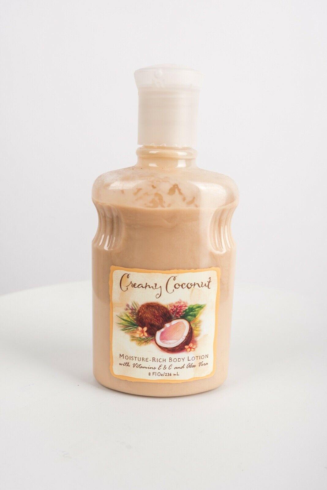 Creamy Coconut Bath & Body Works Womens Lotion Moisturizer Skin Care 8 fl oz HTF