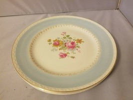 Homer Laughlin Dinner Plates Eggshell Georgian Robin Egg Blue China Set ... - $121.36
