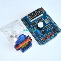 ! Multifunctional expansion board kit for arduino with 9g micro servo fo... - $10.40