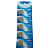 Eunicell CR2032 5004LC Lithium Blister Pack 3V 3 Volt Coin Cell Batteries (5 pcs - $4.69