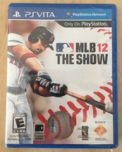 MLB The Show 12 Sony Playstation Vita Factory Sealed Free Shipping NEW - $8.99