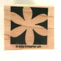Stampin Up Daisy Flower Silhouette Rubber Stamp Spring Summer Garden Nature 2003 - $4.50