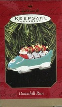 1997 New in Box - Hallmark Keepsake Christmas Ornament - Downhill Run - $5.93