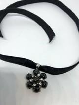 Vintage Genuine Black Star of India Gemstone 925 Sterling Silver Pendant... - $133.65