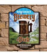 Alpine Brewery & Pub Custom Wooden Sign - $49.95+