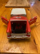 1955 55 Chevy Bel Air Collectible 1/64 Scale Diecast Diorama Model image 4